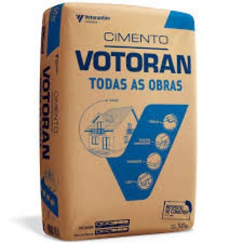 Cimento Votoran 50kg Todas as Obras - MATERGI MATERIAIS DE CONSTRUÇÃO