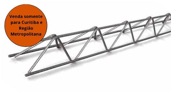 Treliça 6,3X4,2X4,2MM H8 06MT Pesada T4 - MATERGI MATERIAIS DE CONSTRUÇÃO