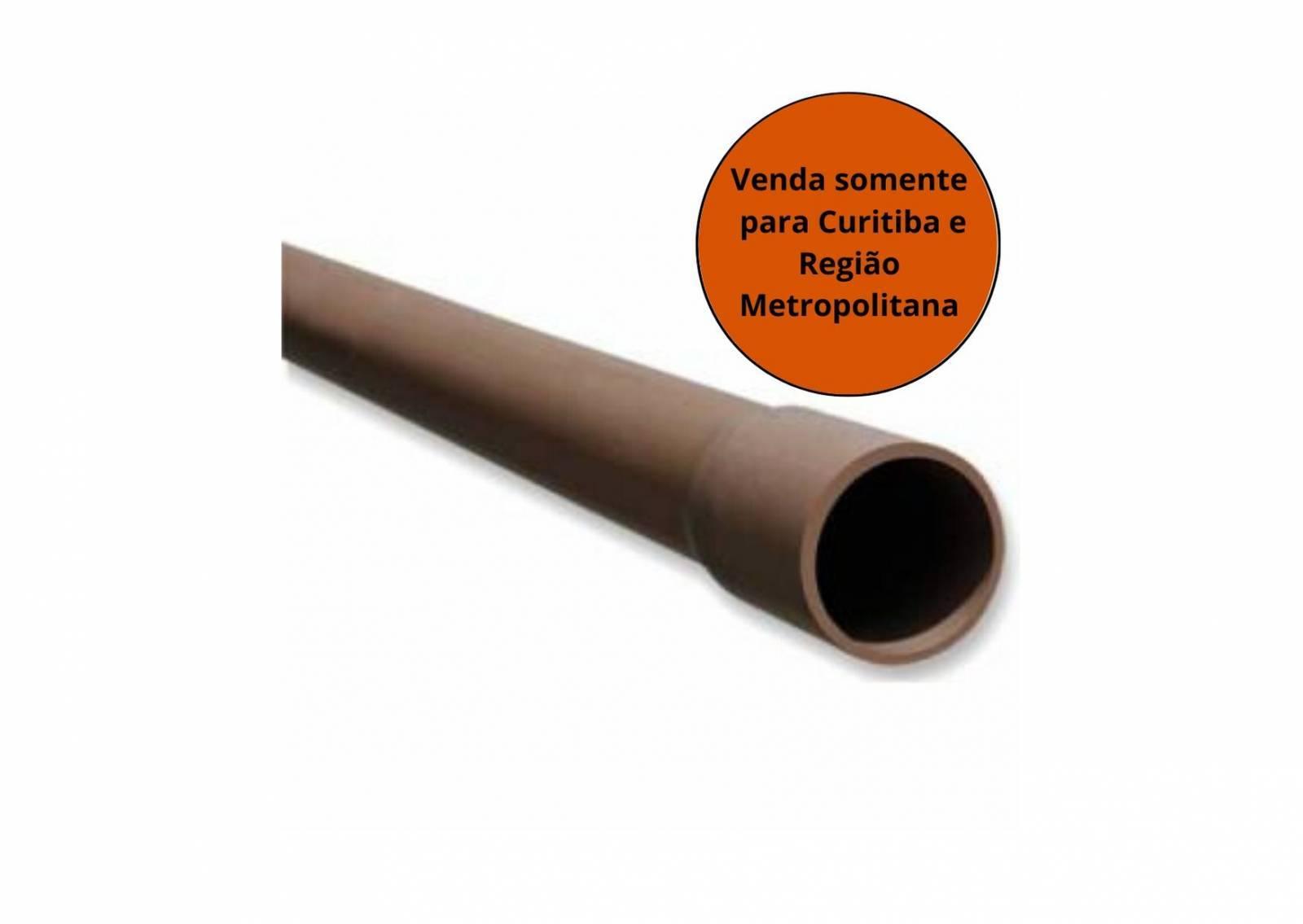 Tubo Soldável 50MM 6M - Krona - MATERGI MATERIAIS DE CONSTRUÇÃO