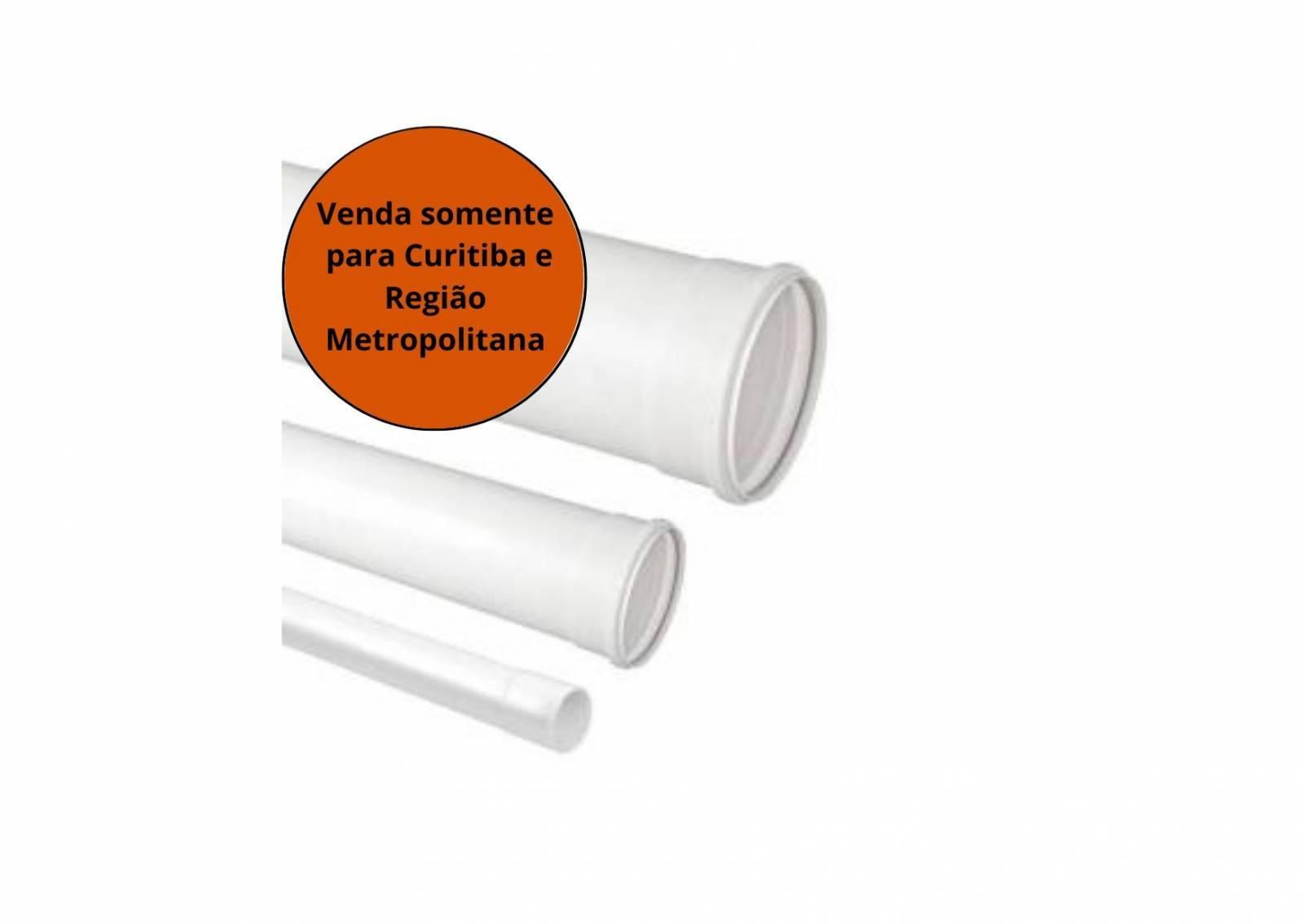 Tubo Esgoto 100MM 6M Krona - MATERGI MATERIAIS DE CONSTRUÇÃO