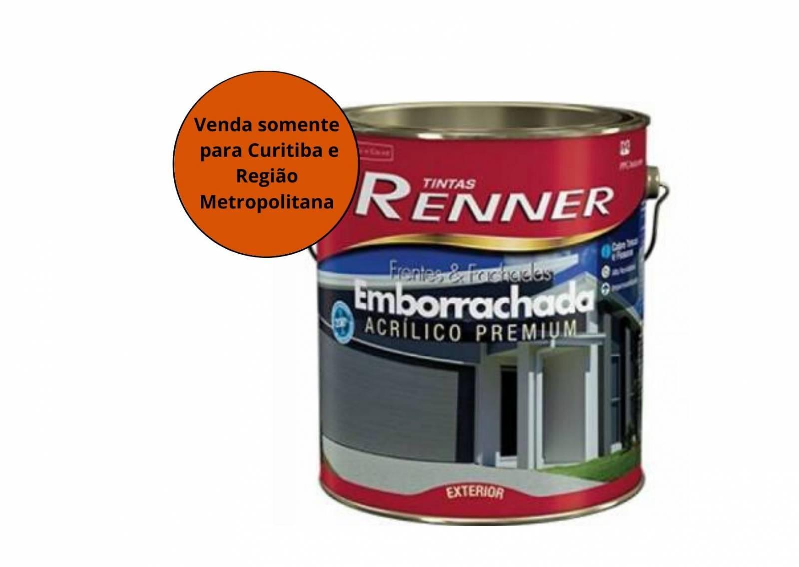 Tinta Esmalte Emborrachada Branco Renner - MATERGI MATERIAIS DE CONSTRUÇÃO