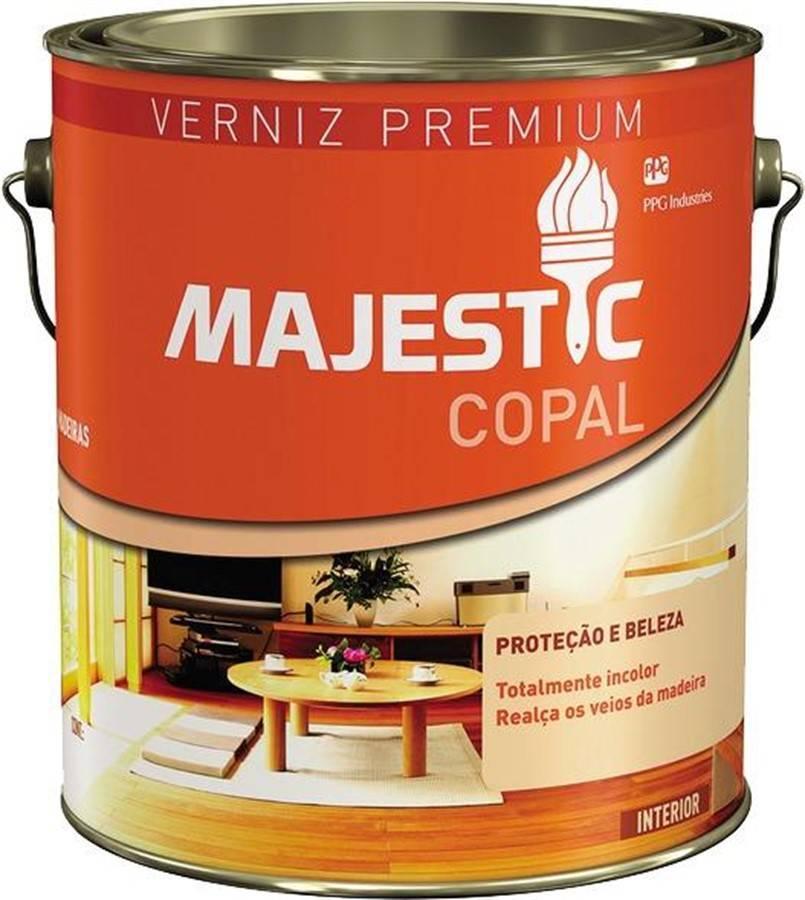 Verniz Majestic Copal 3,6L Premium - Renner - MATERGI MATERIAIS DE CONSTRUÇÃO