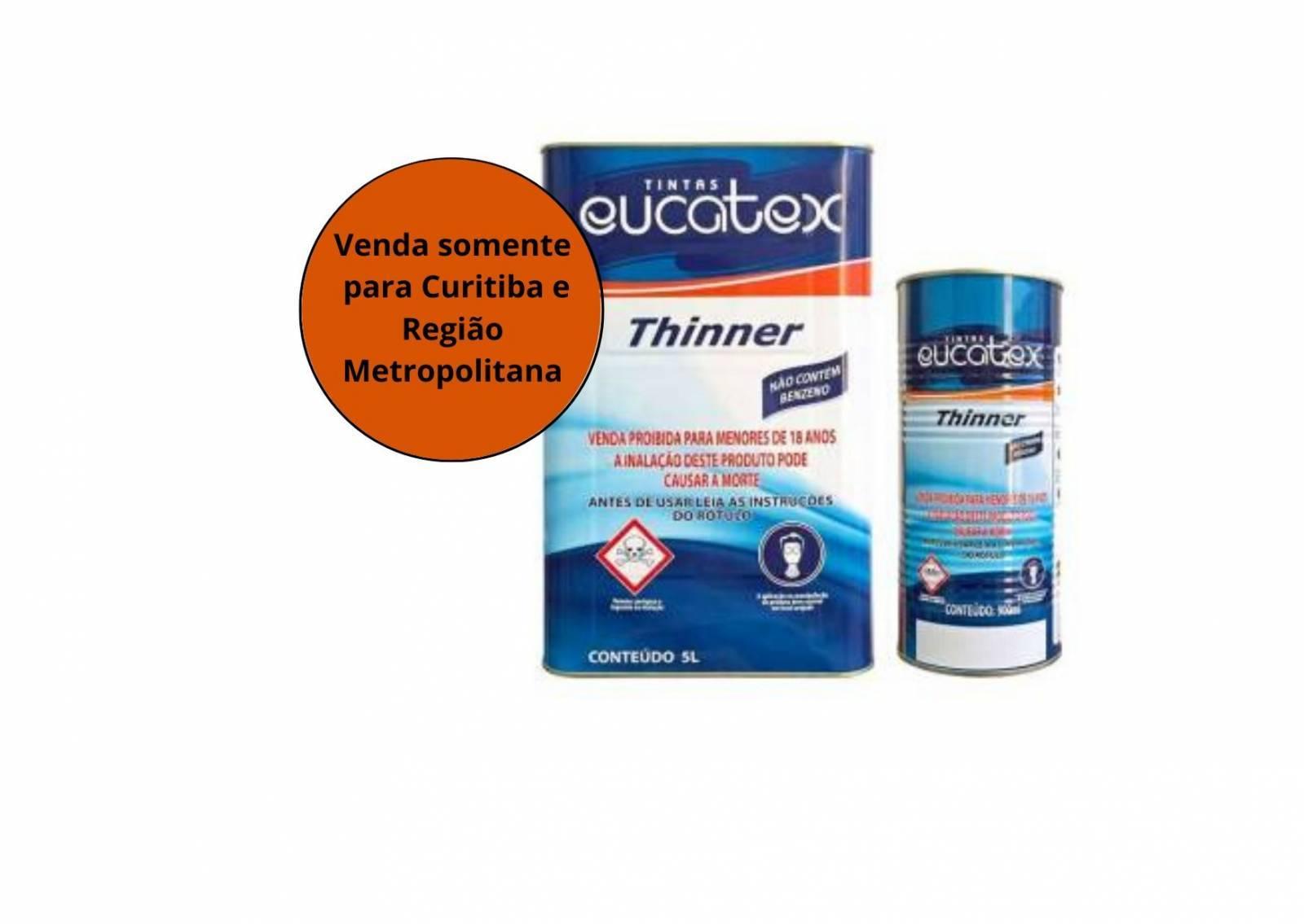 Thinner Eucatex - MATERGI MATERIAIS DE CONSTRUÇÃO