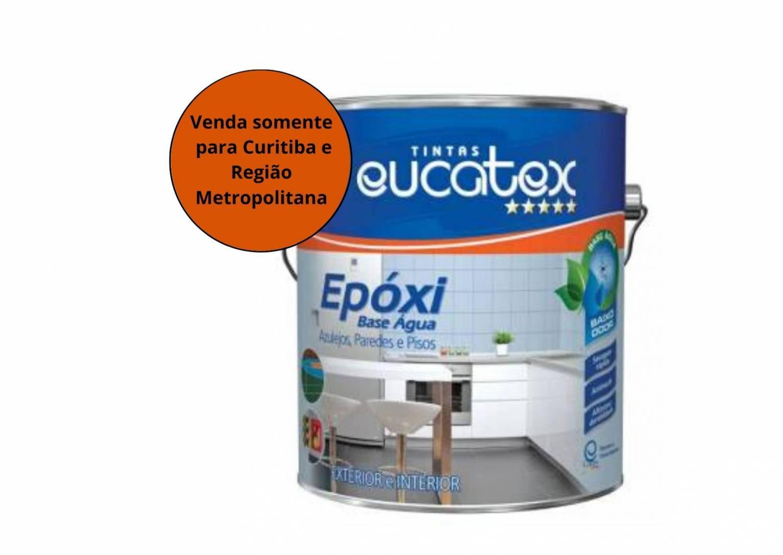 Tinta Epoxi Base Solvente 3,6  - MATERGI MATERIAIS DE CONSTRUÇÃO