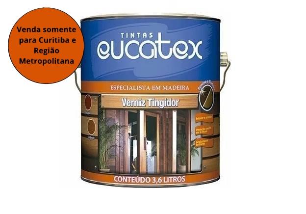 Verniz Brilhante 0,9L Mogno Eucatex - MATERGI MATERIAIS DE CONSTRUÇÃO