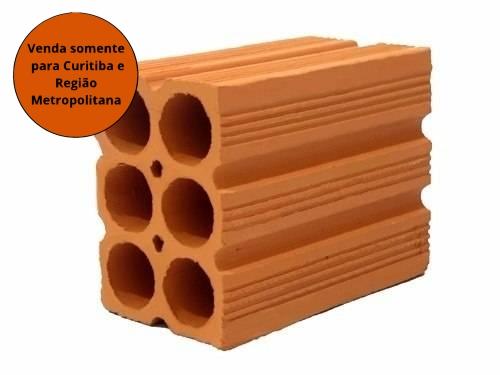 Tijolo 6 Furos 9x14x19 Granel (Milheiro)  - MATERGI MATERIAIS DE CONSTRUÇÃO