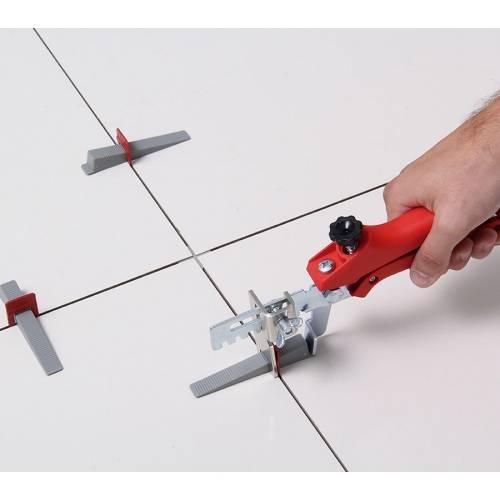 Espaçador Nivelador Slim 1,0 mm  - MATERGI MATERIAIS DE CONSTRUÇÃO