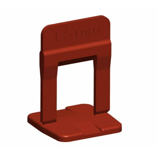 Espaçador Nivelador Slim 1,5 mm  - MATERGI MATERIAIS DE CONSTRUÇÃO