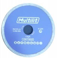 Disco Diamantado 110MM Contínuo Multilit