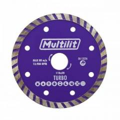 Disco Diamantado 110MM Turbo Multilit