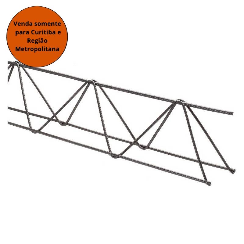 Treliça 5,0X3,4X3,4MM H8 06MT Leve T2 - MATERGI MATERIAIS DE CONSTRUÇÃO