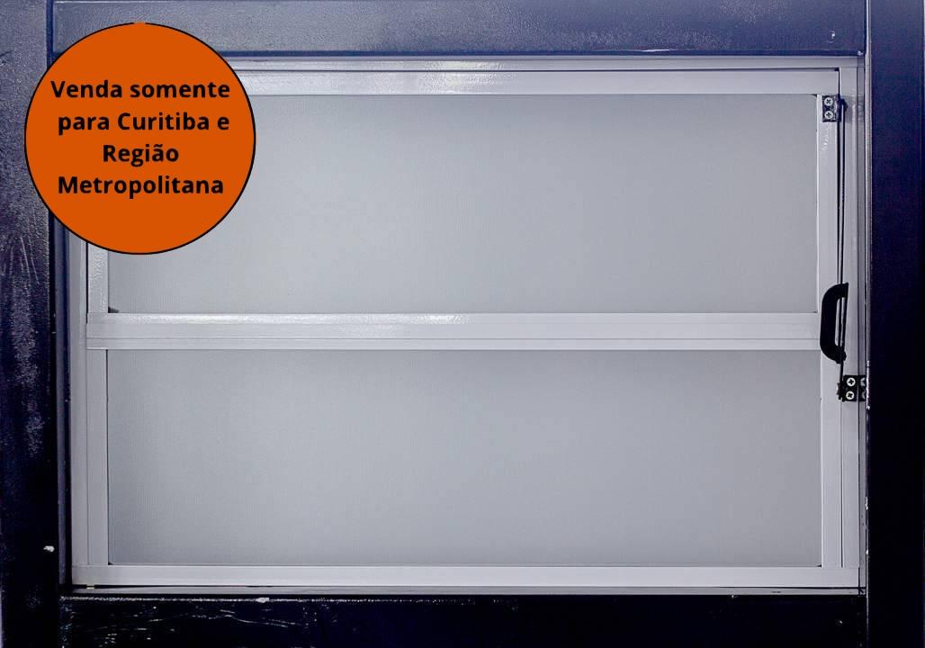 Janela Basculante 040x060 Braco Reli - MATERGI MATERIAIS DE CONSTRUÇÃO