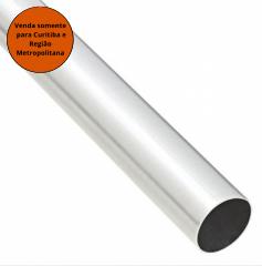 Varão De Aluminio 1,5 Metro Branco Reli
