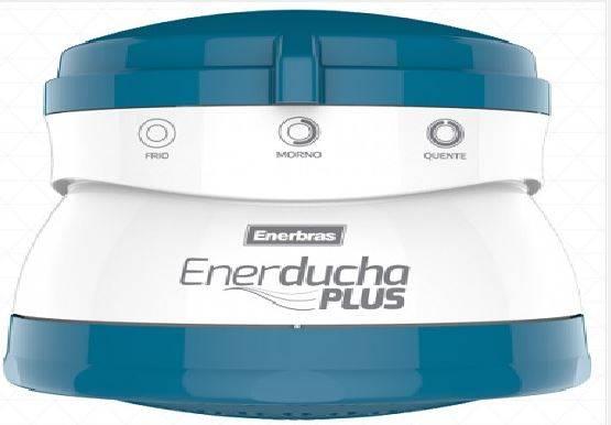 Ducha Elétrica Enerducha Plus 127V 5400W Azul Claro - MATERGI MATERIAIS DE CONSTRUÇÃO