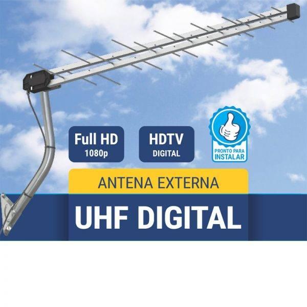 Antena UHF/Digital 16 Elementos Multivisão - MATERGI MATERIAIS DE CONSTRUÇÃO
