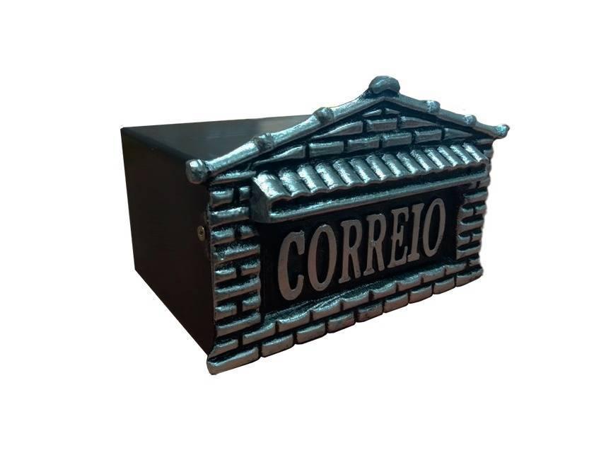 Caixa de Correio Alumínio 22X19X11  Somar  - MATERGI MATERIAIS DE CONSTRUÇÃO