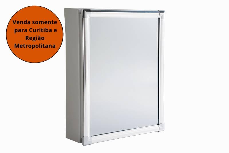 Armário Para Banheiro De Plástico 36X31X10CM Astra - MATERGI MATERIAIS DE CONSTRUÇÃO