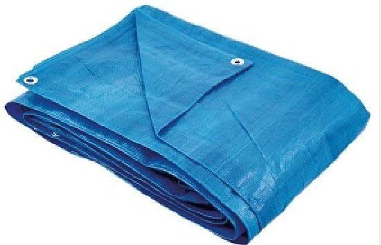 Lona Polietileno Azul 7x4 Thompson - MATERGI MATERIAIS DE CONSTRUÇÃO