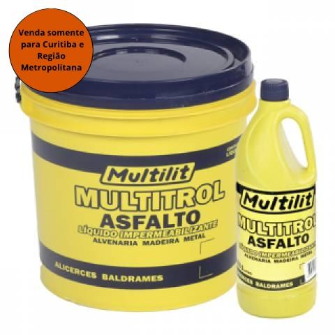 Emulsão Asfaltica Multitrol Multilit 18L - MATERGI MATERIAIS DE CONSTRUÇÃO