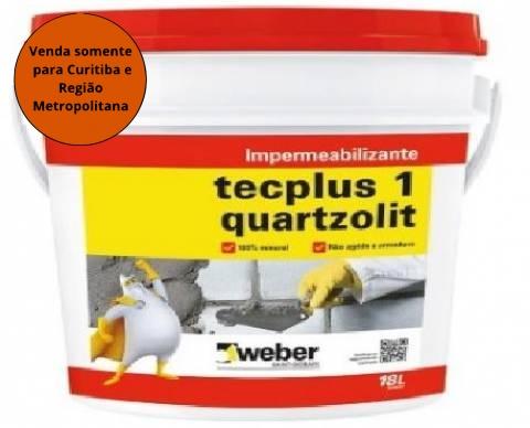 Tecplus 1 18L Quartzolit - MATERGI MATERIAIS DE CONSTRUÇÃO