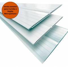 Forro PVC 6MM 6MT Branco Gelo Segunda Linha - Fortplast