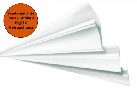 Meia Cana Branco Gelo 6M Fortplast - MATERGI MATERIAIS DE CONSTRUÇÃO