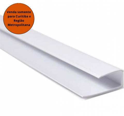 Meia Cana PVC Estreita Branco Gelo 6M Segunda Linha - MATERGI MATERIAIS DE CONSTRUÇÃO