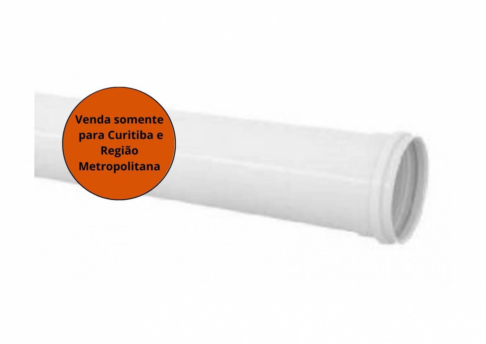 Tubo De Esgoto 50MM 6M Krona - MATERGI MATERIAIS DE CONSTRUÇÃO