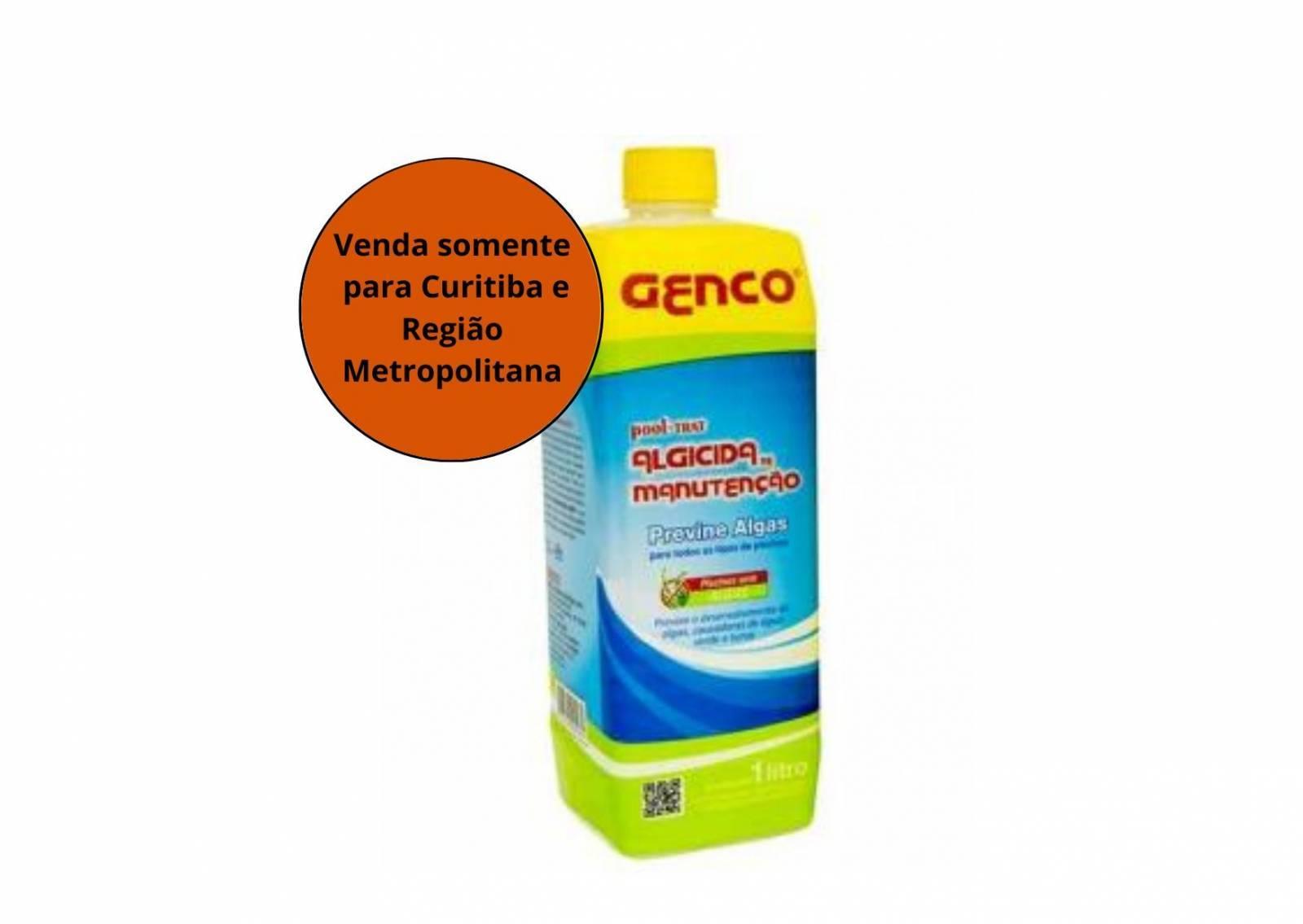Algicida De Manutenção Pool Trat 1L Genco - MATERGI MATERIAIS DE CONSTRUÇÃO