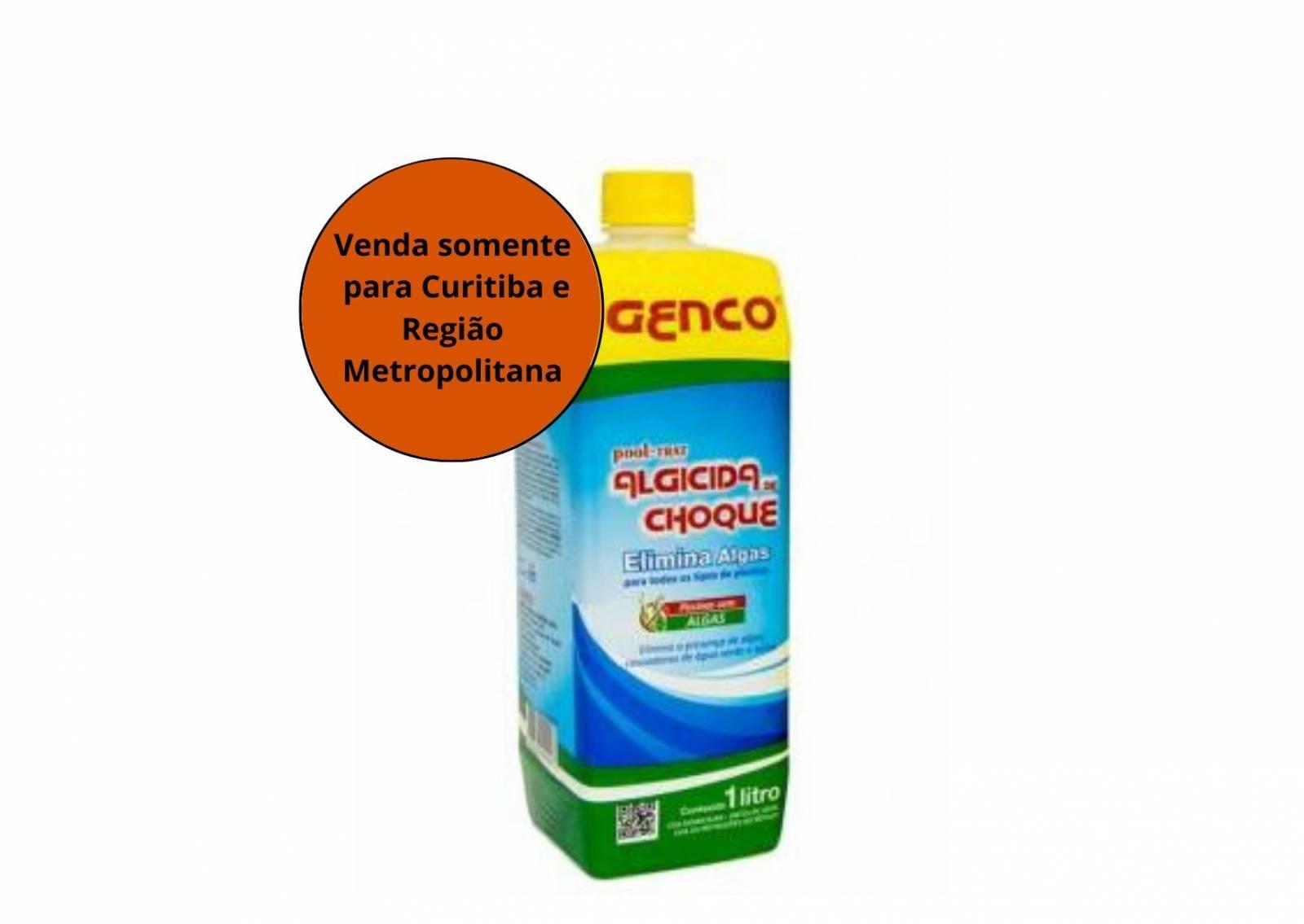 Algicida de Choque POOL TRAT 1L Genco - MATERGI MATERIAIS DE CONSTRUÇÃO