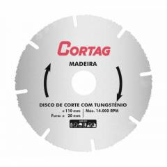 Disco para Madeira 110MM Serra Marmore 61346 Cortag