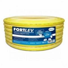 Eletroduto Corrugado Flexível 32MM Amarelo 25mt Fortlev
