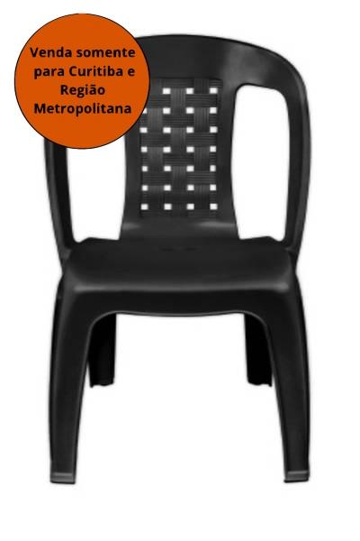 Cadeiras - Cadeira Poltrona Bistro Arqplast - MATERGI MATERIAIS DE CONSTRUÇÃO
