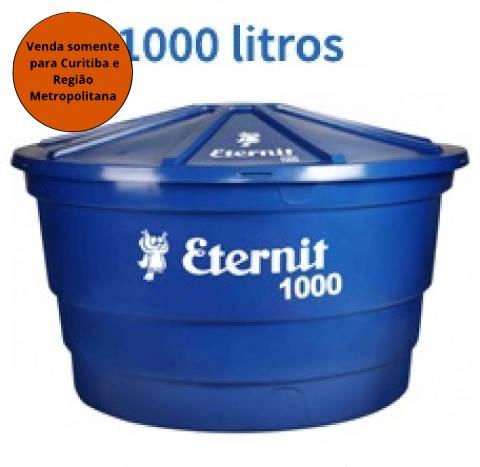 Caixa D'Água Polietileno 1000L Eternit - MATERGI MATERIAIS DE CONSTRUÇÃO