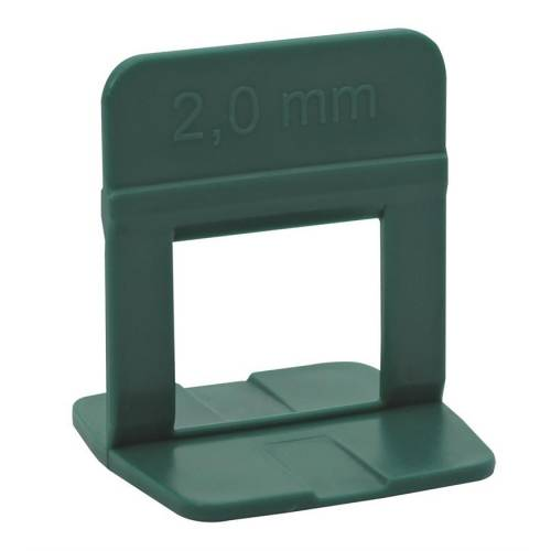 Espaçador Nivelador ECO 2,0 mm 500 PÇ - MATERGI MATERIAIS DE CONSTRUÇÃO
