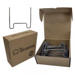 Grampo 2,5CM X 11,5CM G02 40 PÇS - Eco Grampo