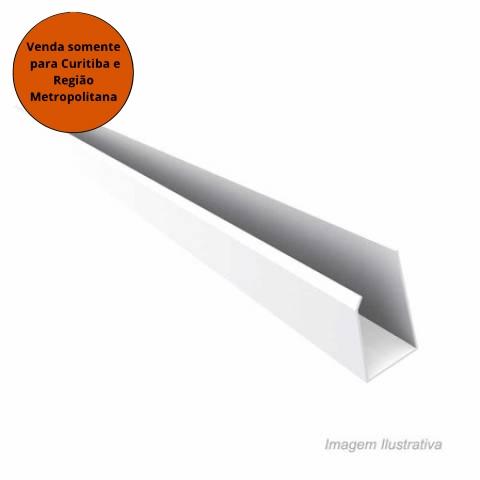 Meia Cana PVC Branco Gelo - Plasflex - MATERGI MATERIAIS DE CONSTRUÇÃO