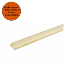 Meia Cana PVC Marfim - Plasflex