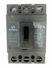 Disjuntor Tripolar 100A DSJ-L3-B Cx. Moldada NEMA SOPRANO