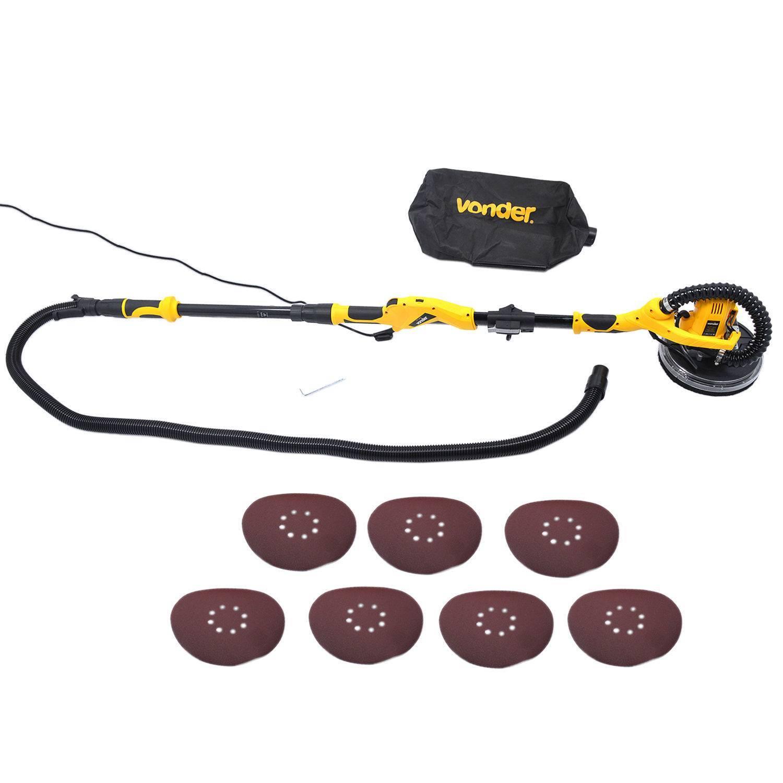 Lixadeira de Parede LPV1000 220V C/ Led - VONDER - MATERGI MATERIAIS DE CONSTRUÇÃO