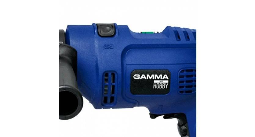 Furadeira Hobby de Impacto 10MM 127V 500W GH1101/BR1 Gamma - MATERGI MATERIAIS DE CONSTRUÇÃO