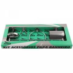 Kit Acessórios Banheiro Stander 5 Peças 6600 - Águia