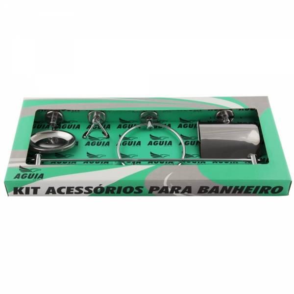 Kit Acessórios Banheiro Stander 5 Peças 6600 - Águia - MATERGI MATERIAIS DE CONSTRUÇÃO