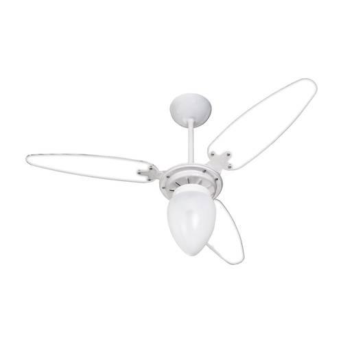 Ventilador de Teto 127v Wind Light Branco/Transp. - Ventisol - MATERGI MATERIAIS DE CONSTRUÇÃO