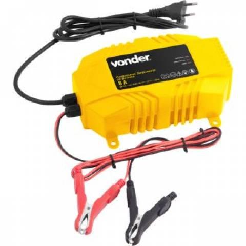 Carregador Inteligente de Bateria CIB100 127V - VONDER - MATERGI MATERIAIS DE CONSTRUÇÃO