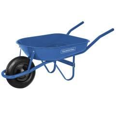 Carrinho de Mão Caçamba Redonda Azul 50L - Tramontina