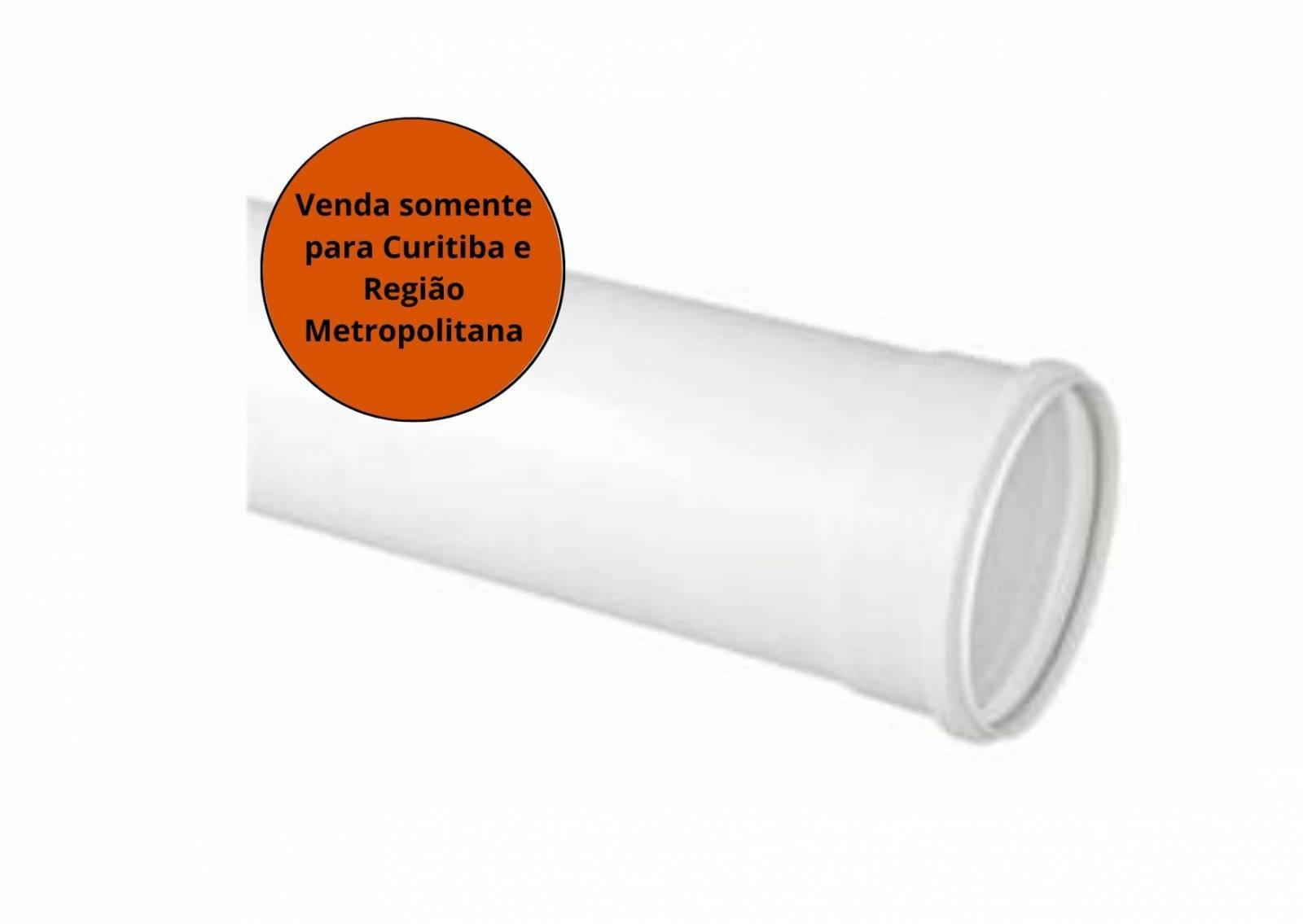 Tubo de Esgoto 200mm 6m - TUBOZAN - MATERGI MATERIAIS DE CONSTRUÇÃO