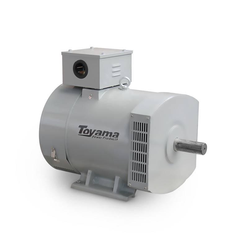 Alternador Toyama TA12.4CS2 12,4KVA Monofásico 115/230V - MATERGI MATERIAIS DE CONSTRUÇÃO