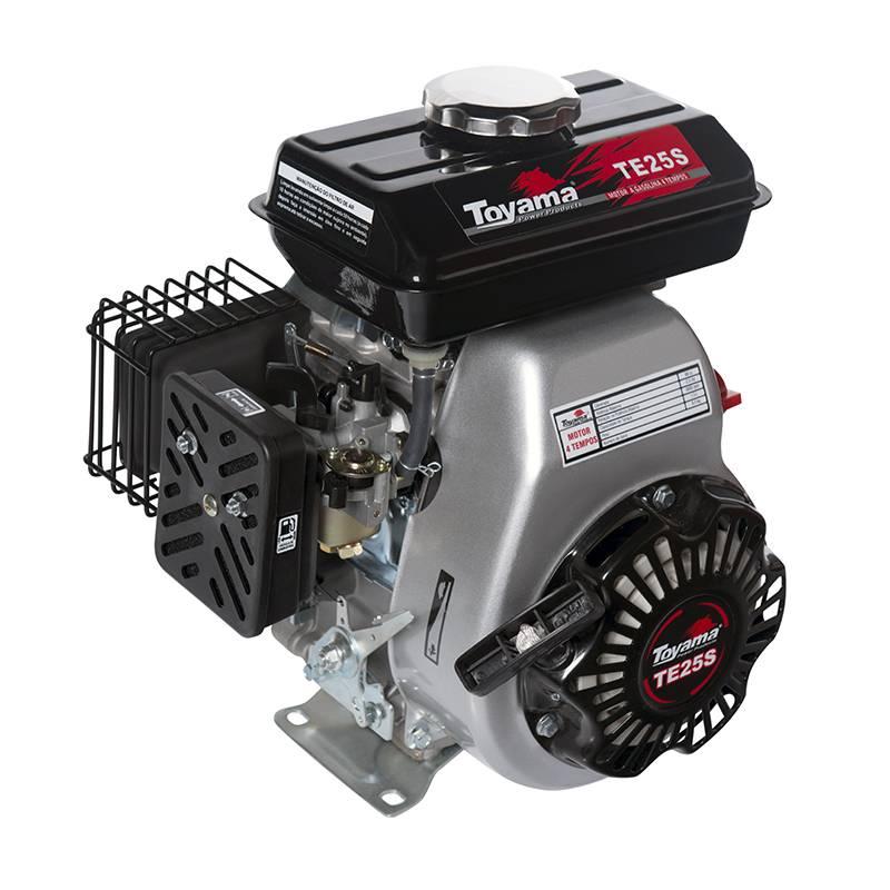Motor Toyama TE25S Gasolina 2.5HP Partida Manual - MATERGI MATERIAIS DE CONSTRUÇÃO