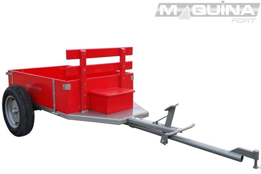 Carreta Simples  1300 R-13 Maquinafort  - MATERGI MATERIAIS DE CONSTRUÇÃO